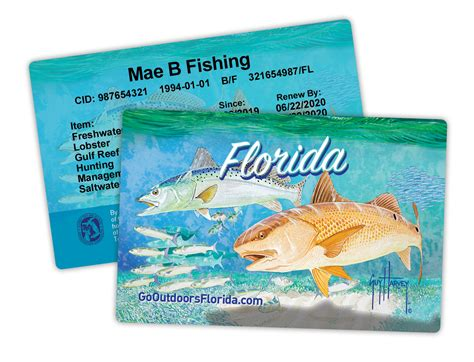 license card florida fishing hard hunting charge credit packages include go