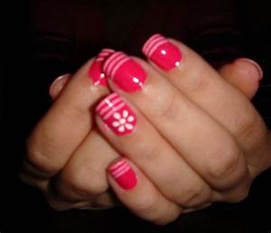 Easy nail design ideas easy nail design ideas step by step for Ideas for nails design