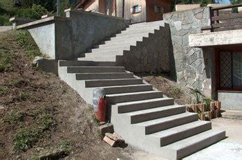 installation d un escalier exterieur fourniture et pose en exterieur