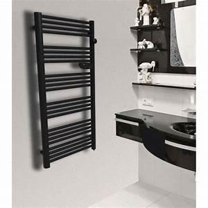 Seche Serviette Electrique Design : seche serviette electrique noir ~ Preciouscoupons.com Idées de Décoration