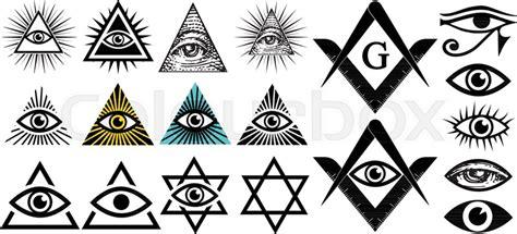 Illuminati Text Symbol by All Seeing Eye Illuminati Symbols Masonic Sign