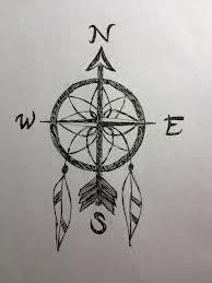 tatouage boussole du voyageur recherche google