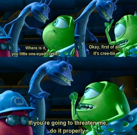 quotes about monsters inc