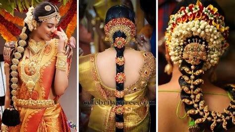 Wedding Hairstyles Indian : South Indian Bridal Hairstyles For Bridal