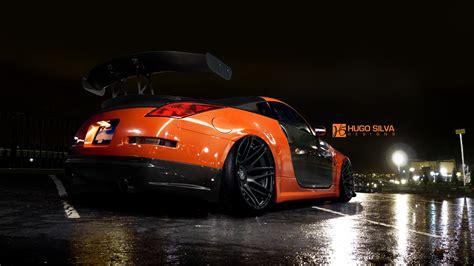 orange nissan  wallpaper hd car wallpapers id
