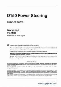 Fiat Kobelco D150ps Crawler Dozer Workshop Manual Pdf