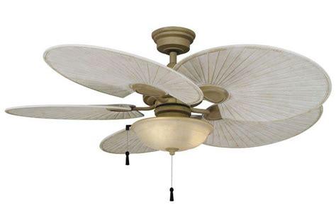 "48"" Outdoorindoor Ceiling Fan + Old World Bowl Light"