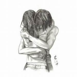 cute couple/relationship drawings - Polyvore