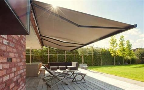 roll  motorised awnings folding arm awnings ozsun shade systems