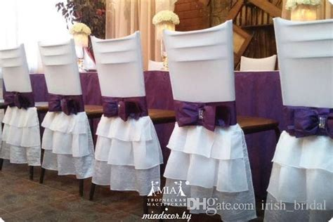 2019 spandex 2016 white bow vintage chair sashes beautiful chair covers cheap custom