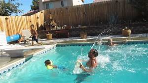 Welcome to leah's Backyard pool party - YouTube