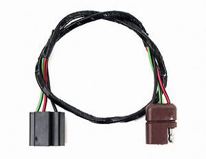 67 68 mustang headlight wiring harness extension