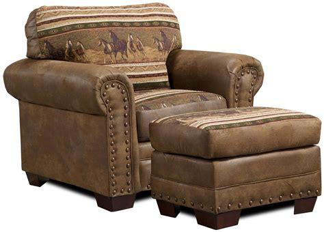 Ottoman Furniture by American Furniture Classics Horses Ottoman 194303