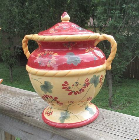 cookie jar french country decor country kitchen decor