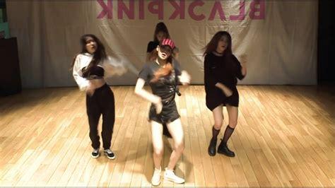 mirrored blackpink dance