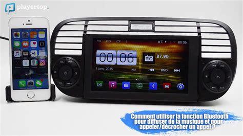 Fiat 500 Gps by Gps Fiat 500 Autoradio Android Et Bluetooth Auto Chez