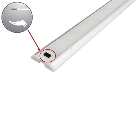 reglette led cuisine réglette led sensitive dimmable 60 cm blanc naturel