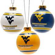 wvu holiday decor west virginia christmas decorations west virginia university ornaments