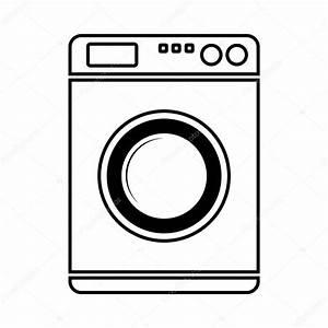 Weichspüler Symbol Waschmaschine : waschmaschine symbol stockvektor konstsem 46217327 ~ Markanthonyermac.com Haus und Dekorationen