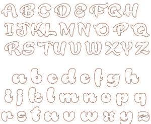 alfabeto cursivo moldes para imprimir moldes letras