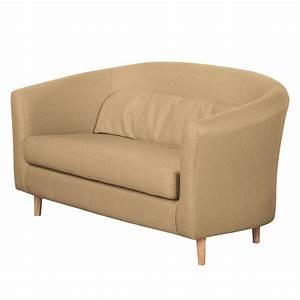 Möbel 24 Shop : sofa philipp 2 sitzer webstoff hellbraun morteens ~ Indierocktalk.com Haus und Dekorationen