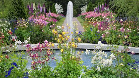 Garden Picture Hd by Flower Garden Wallpapers Wallpaper Cave