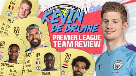 KEVIN DE BRUYNE RATES THE FIFA 20 PREMIER LEAGUE XI ...