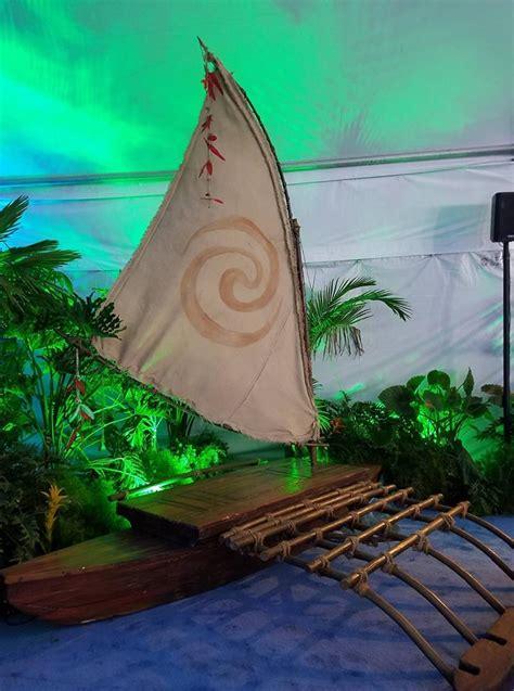Moana Boat by Carpet Premiere Of Moana