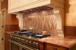kitchen range ideas 20 copper backsplash ideas that add glitter and glam to