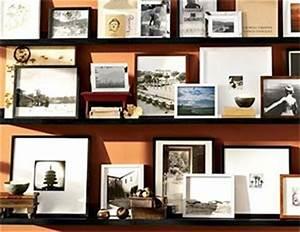 Etagere Cadre Photo : etagere pour cadres et tableaux ~ Teatrodelosmanantiales.com Idées de Décoration