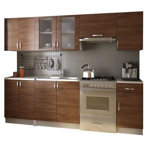 meuble de cuisine en kit acheter meubles de cuisine équipée neufs en kit brun 2 4 m pas cher vidaxl fr