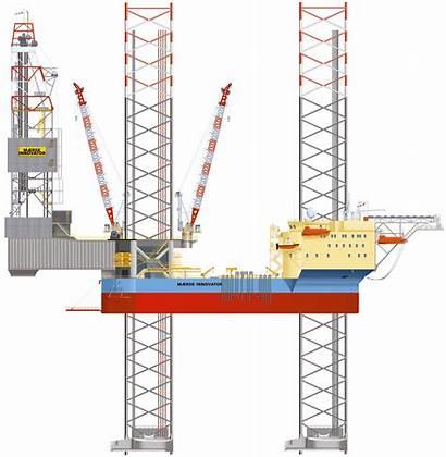 Platform Oil Gas Different Jack Operations Upstream