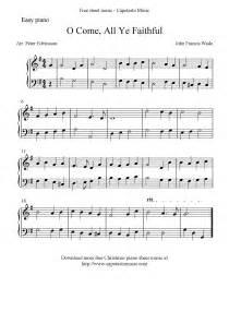 Free Printable Christmas Piano Sheet Music