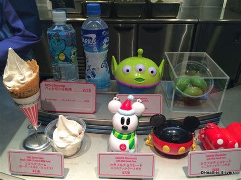 dining  tokyo disneyland pre packaged souvenir snacks