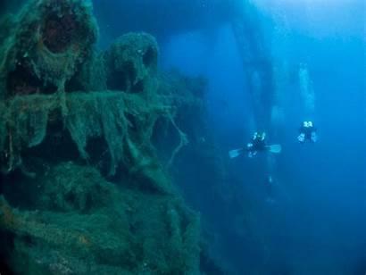 Diving Cave Scuba Shipwreck Backgrounds