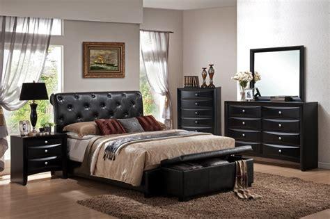 black bedroom furniture sets تسريحة كلاسيك اسود بغرفة النوم المرسال 14567