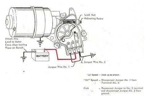 69 Fairlane Windshield Wiper Wire Diagram by C2 1965 Wiper Motor Issue Parts Help Corvetteforum