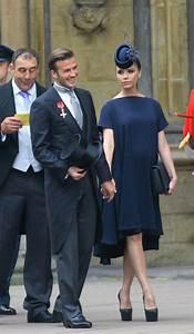 David and Victoria Beckham at Royal Wedding | POPSUGAR ...