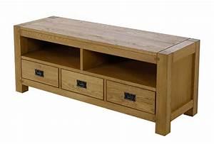meuble tv en chene homestock meuble tv bas en chene With porte d entrée pvc avec pavan montauban meuble salle de bain