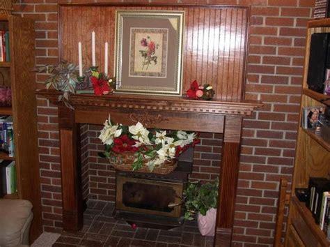decoration wood custom wood fireplace mantels  track