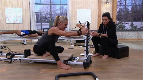 Aeropilates 5 Cord Reformer With Rebounder Choice Of Stand
