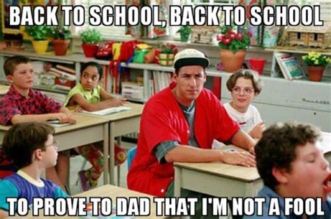 Back to School Adam Meme