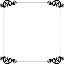 12x12 scrapbook border frame clipart panda free clipart images