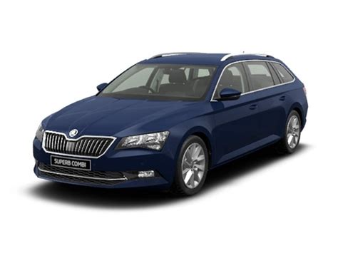 skoda superb estate  tdi cr se  car leasing
