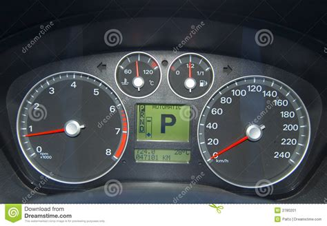 car control panel stock image image