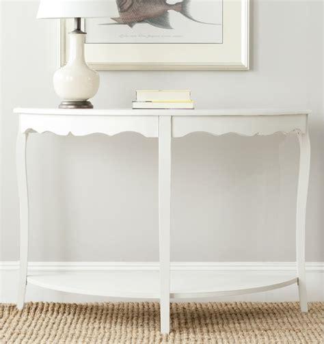 off white console table safavieh christina off white console contemporary