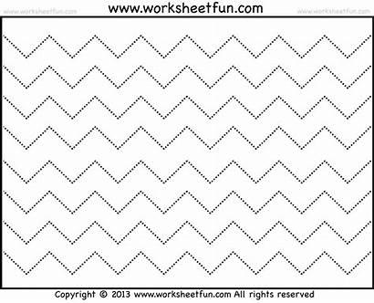 Tracing Line Worksheets Zig Zag Worksheet Lines