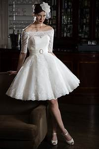 25 of the most beautiful tea length short wedding dresses With beautiful short wedding dresses