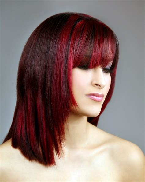short red  black hairstyles fade haircut