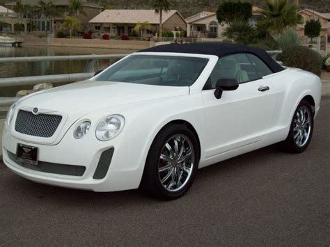 bentley continental gt replica sells  ebay car tuning